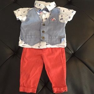 Other - Infant boys 3-6 month onsie